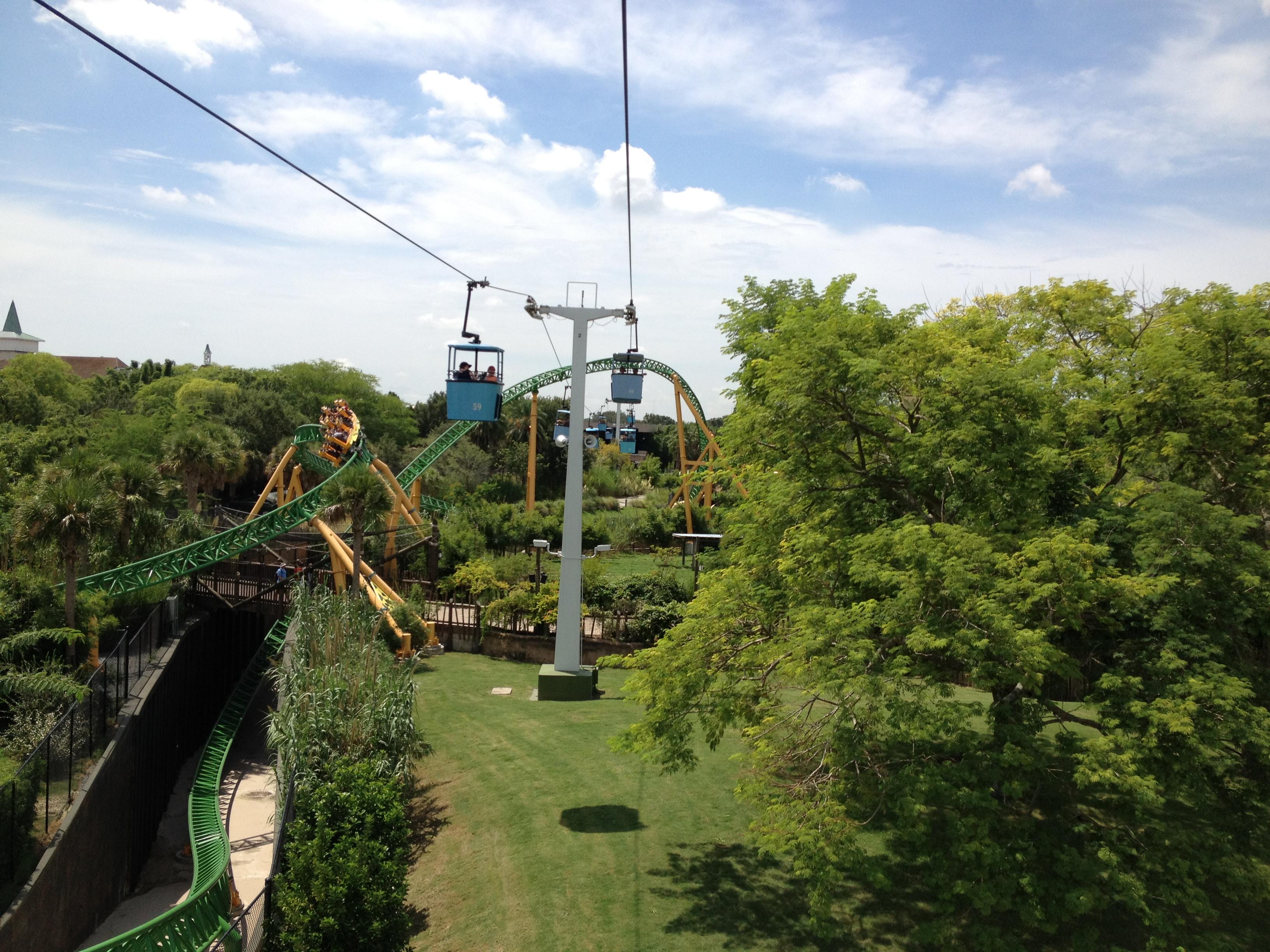 Video Of Wild New Coaster At Busch Gardens Tampa Florida Adventurer