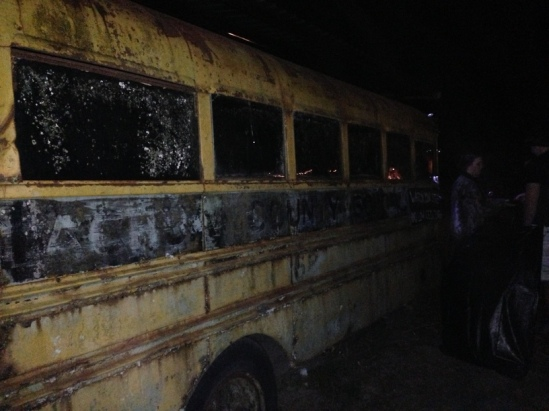 Haunted school bus