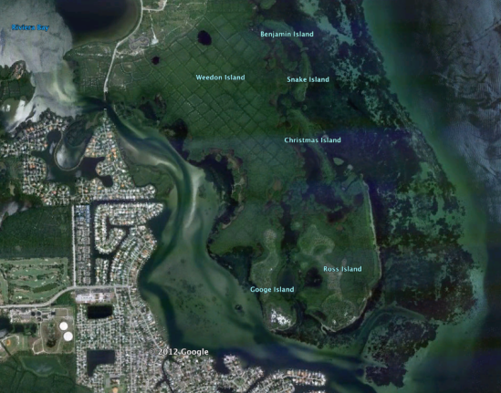 Weedon Island Satellite Photo