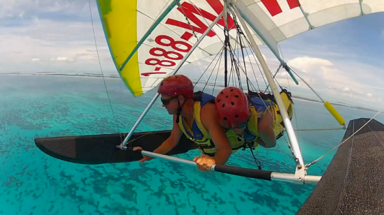 Hang Gliding in the Florida Keys