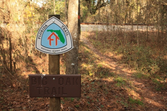 Florida Trail entrance